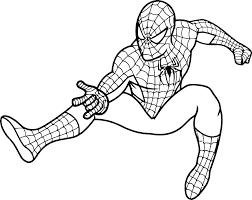 spiderman para colorear 29