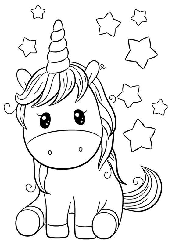 unicornios para colorear 13