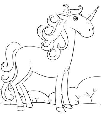 unicornios para colorear 18