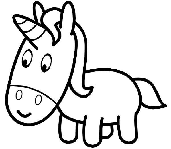 unicornios para colorear 23