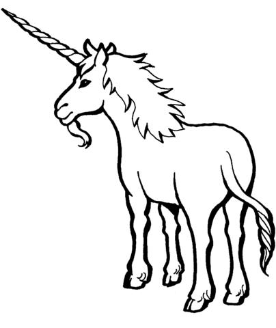 unicornios para colorear 27