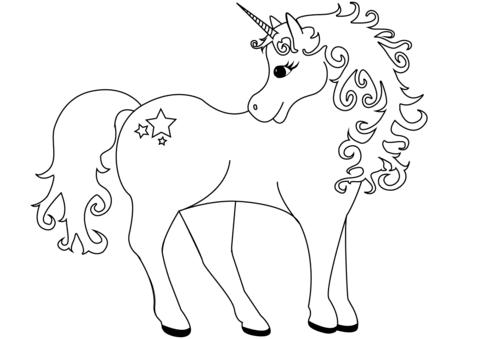 unicornios para colorear 31